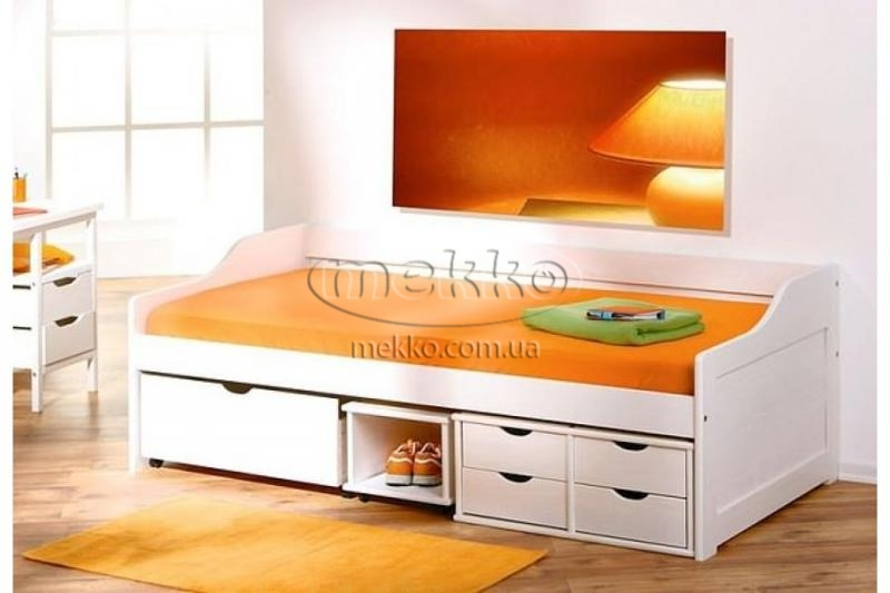 """Ліжко """"FLORO"""" (2090х960х720мм) Halmar (Халмар)  Гірник-3"""