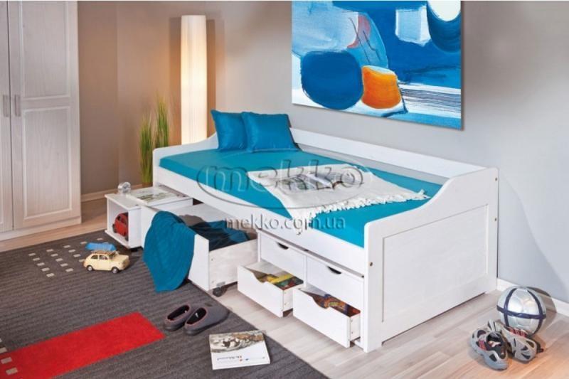 """Ліжко """"FLORO"""" (2090х960х720мм) Halmar (Халмар)  Гірник"""