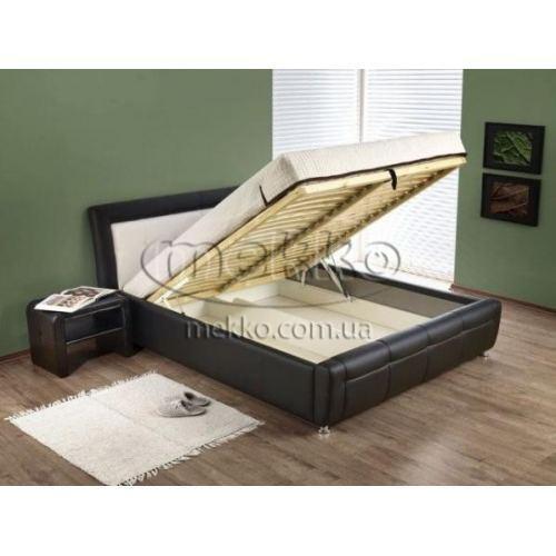 """Ліжко з підйомним механізмом """"SAMANTA P"""" (1840х2220х940мм) Halmar (Халмар)  Гірник-2"""