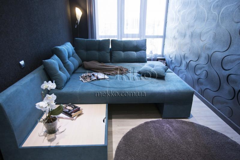 Кутовий диван з поворотним механізмом (Mercury) Меркурій ф-ка Мекко (Ортопедичний) - 3000*2150мм  Гірник-4