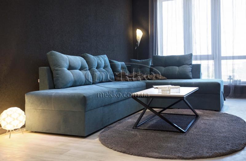 Кутовий диван з поворотним механізмом (Mercury) Меркурій ф-ка Мекко (Ортопедичний) - 3000*2150мм  Гірник