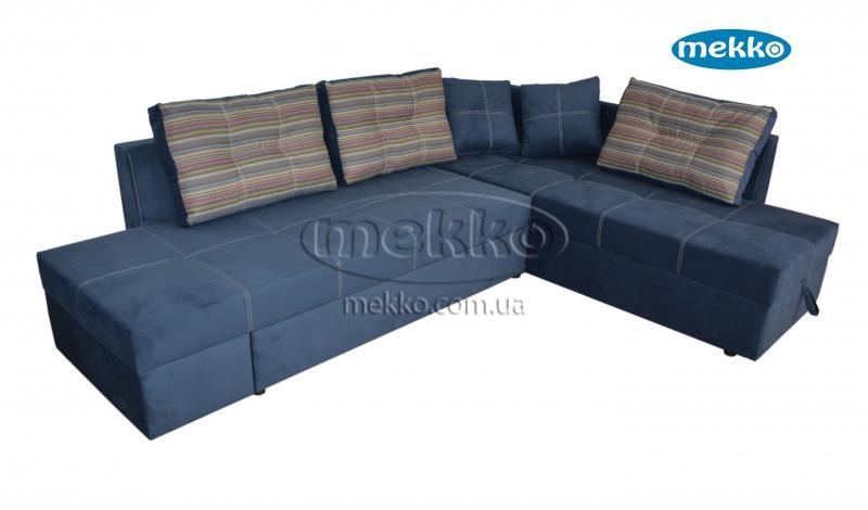 Кутовий диван з поворотним механізмом (Mercury) Меркурій ф-ка Мекко (Ортопедичний) - 3000*2150мм  Гірник-13