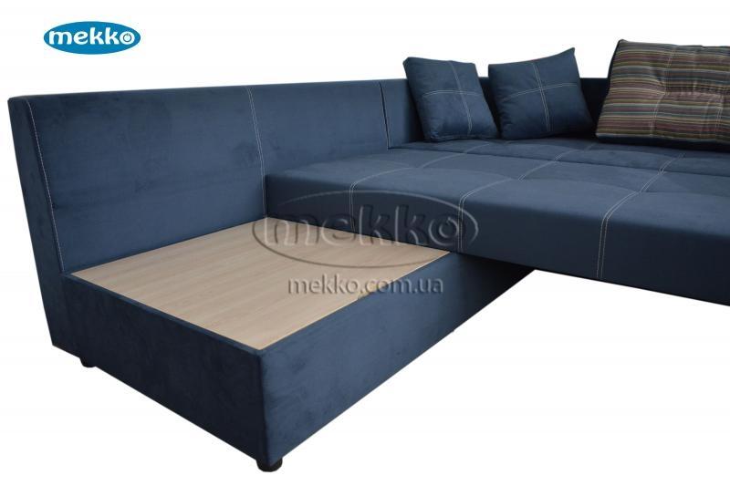 Кутовий диван з поворотним механізмом (Mercury) Меркурій ф-ка Мекко (Ортопедичний) - 3000*2150мм  Гірник-17