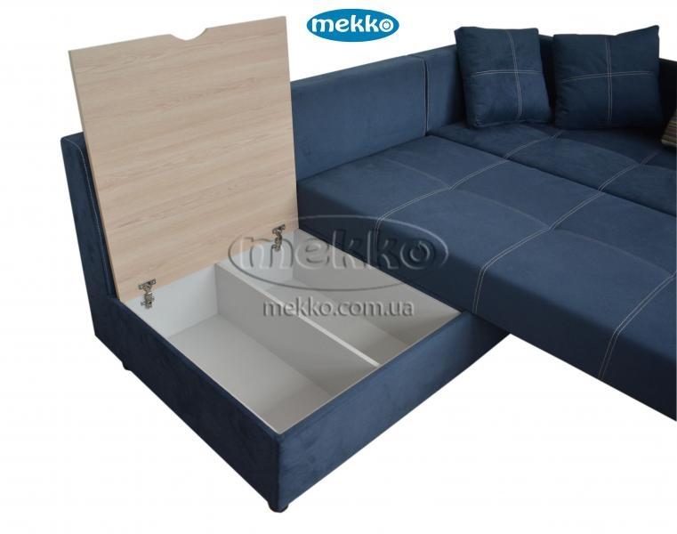Кутовий диван з поворотним механізмом (Mercury) Меркурій ф-ка Мекко (Ортопедичний) - 3000*2150мм  Гірник-18