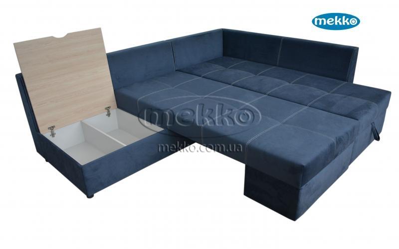 Кутовий диван з поворотним механізмом (Mercury) Меркурій ф-ка Мекко (Ортопедичний) - 3000*2150мм  Гірник-19
