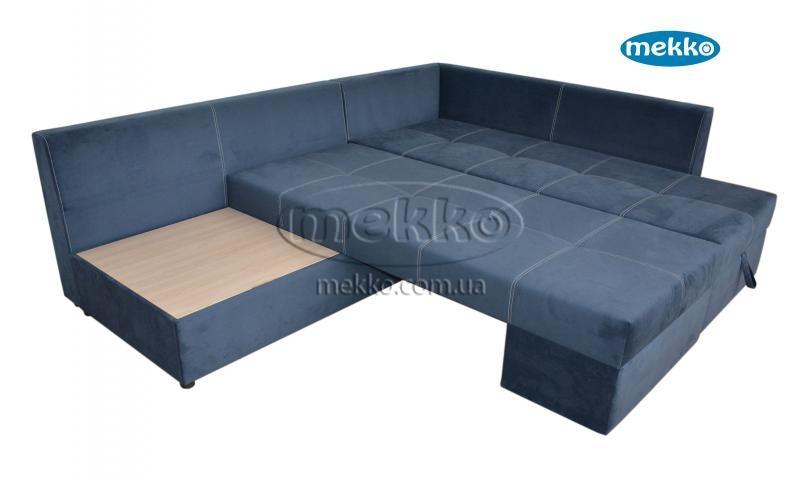 Кутовий диван з поворотним механізмом (Mercury) Меркурій ф-ка Мекко (Ортопедичний) - 3000*2150мм  Гірник-16