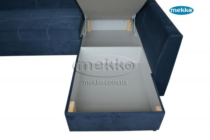 Кутовий диван з поворотним механізмом (Mercury) Меркурій ф-ка Мекко (Ортопедичний) - 3000*2150мм  Гірник-20