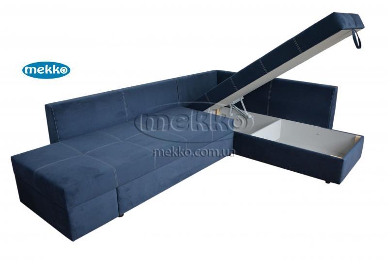 Кутовий диван з поворотним механізмом (Mercury) Меркурій ф-ка Мекко (Ортопедичний) - 3000*2150мм  Гірник-14