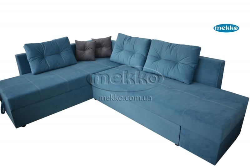 Кутовий диван з поворотним механізмом (Mercury) Меркурій ф-ка Мекко (Ортопедичний) - 3000*2150мм  Гірник-10