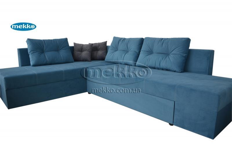 Кутовий диван з поворотним механізмом (Mercury) Меркурій ф-ка Мекко (Ортопедичний) - 3000*2150мм  Гірник-11