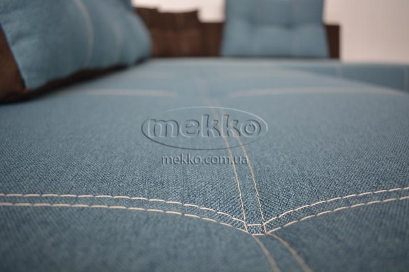 Кутовий диван з поворотним механізмом (Mercury) Меркурій ф-ка Мекко (Ортопедичний) - 3000*2150мм  Гірник-9