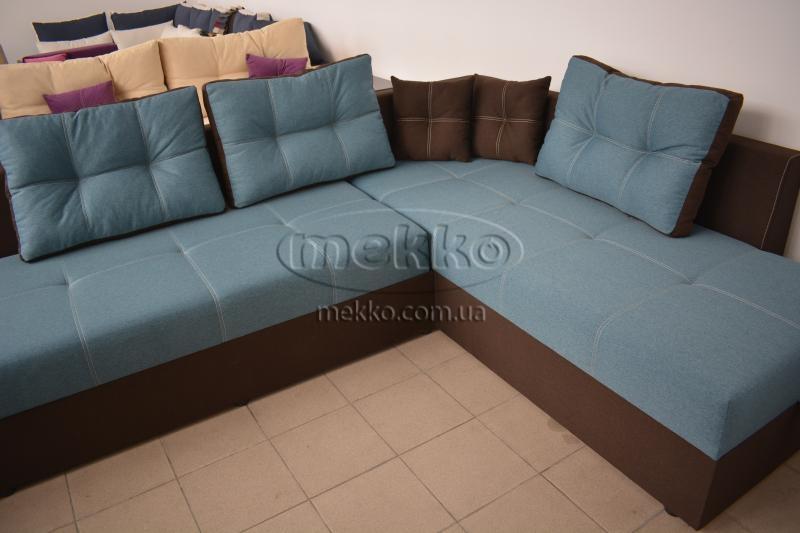 Кутовий диван з поворотним механізмом (Mercury) Меркурій ф-ка Мекко (Ортопедичний) - 3000*2150мм  Гірник-8