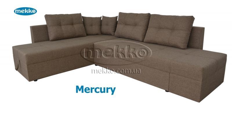 Кутовий диван з поворотним механізмом (Mercury) Меркурій ф-ка Мекко (Ортопедичний) - 3000*2150мм  Гірник-12