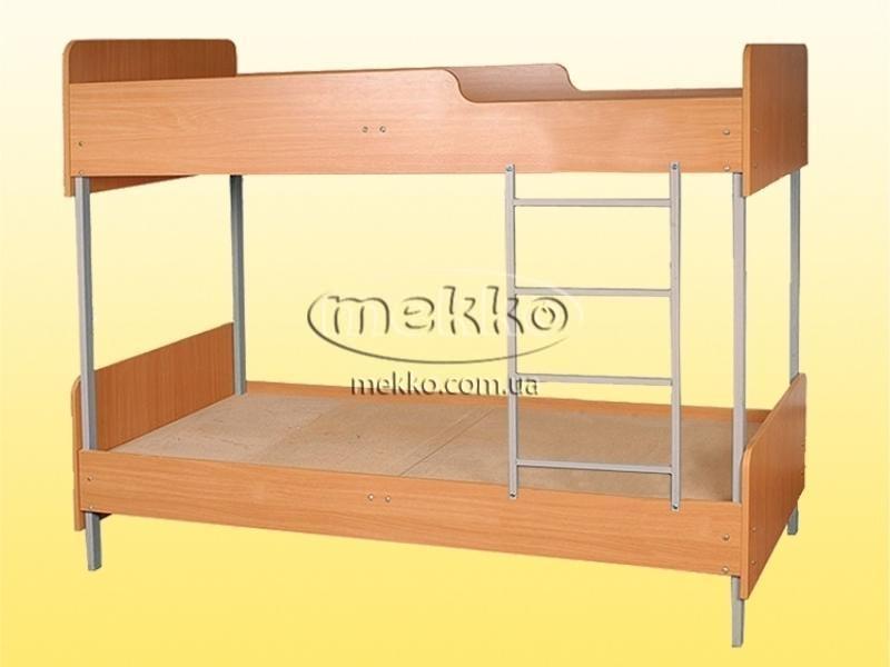Ліжко 2-ярусне  (1950х850х1778мм) (арт.0819) Геліка  Гірник