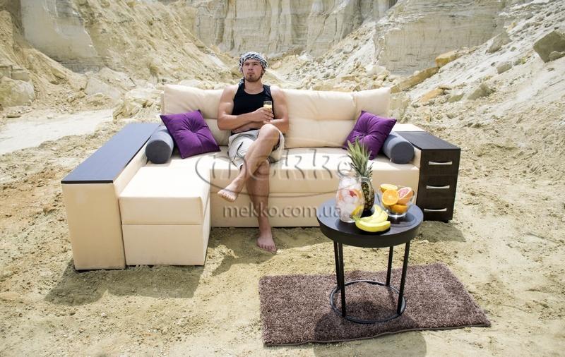 Ортопедичний кутовий диван Cube Shuttle NOVO (Куб Шатл Ново) ф-ка Мекко (2,65*1,65м)  Гірник-6