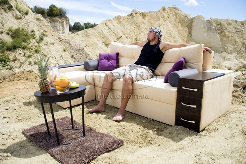 Ортопедичний кутовий диван Cube Shuttle NOVO (Куб Шатл Ново) ф-ка Мекко (2,65*1,65м)  Гірник-5
