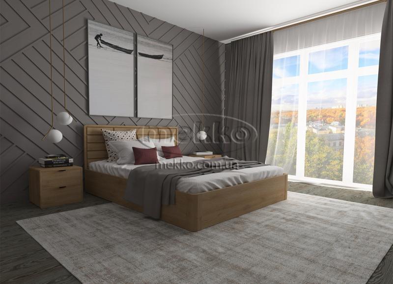 Ліжко Лауро з Підйомником (масив бука /масив дуба) T.Q.Project  Гірник