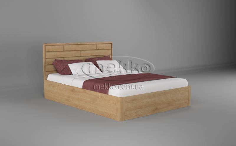 Ліжко Лауро з Підйомником (масив бука /масив дуба) T.Q.Project  Гірник-5