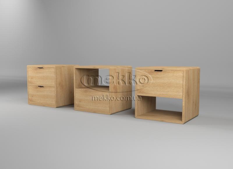 Ліжко Лауро з Підйомником (масив бука /масив дуба) T.Q.Project  Гірник-3