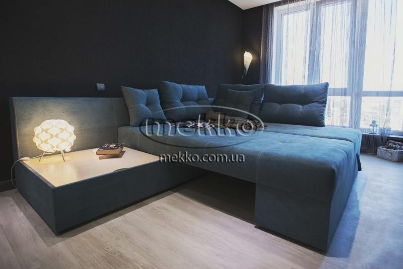 Кутовий диван з поворотним механізмом (Mercury) Меркурій ф-ка Мекко (Ортопедичний) - 3000*2150мм  Гірник-6