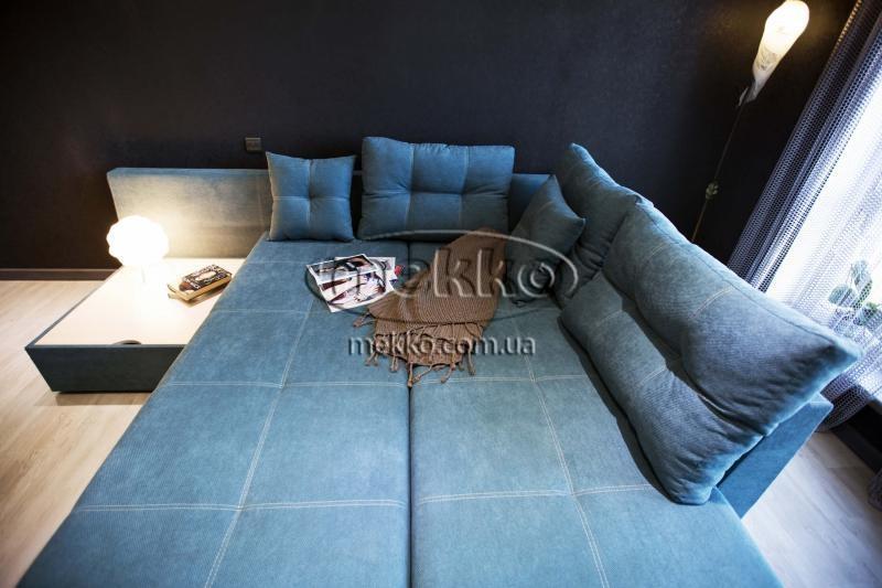 Кутовий диван з поворотним механізмом (Mercury) Меркурій ф-ка Мекко (Ортопедичний) - 3000*2150мм  Гірник-5